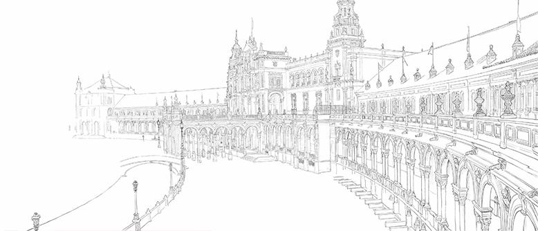 dibujo para Centro de fisioterapia Antonio Roldán